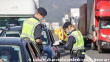 Grenzkontrollen zwischen Deutschland und Österreich