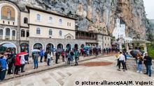 Montenegro   Ostrog Kloster   Coronavirus   Pilger