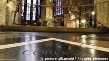 Gedenktafel der Heiligen Korona im Aachener Do