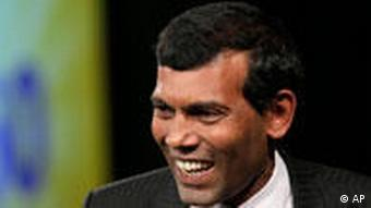 Maldives President Mohamed Nasheed is still hopeful about the future