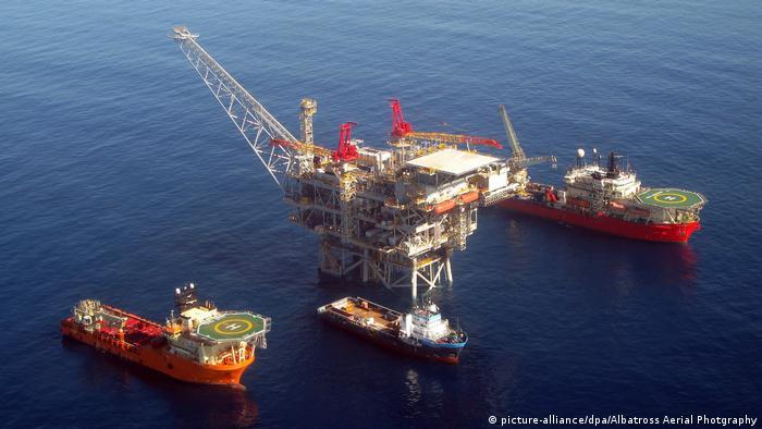 Добыча газа у берегов Израиля