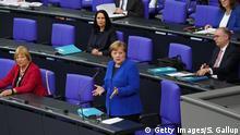 Deutschland Bundestag   Befragung der Bundesregierung: Bundeskanzlerin Angela Merkel