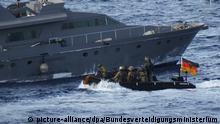 Mission Irini soll Waffenembargo gegen Libyen überwachen