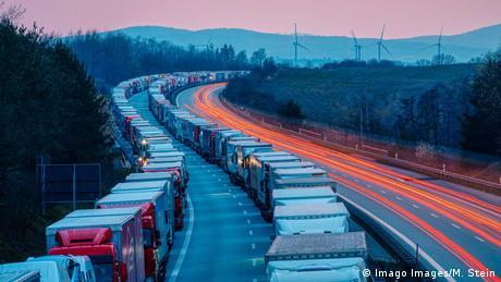 Stau auf der A4 (Imago Images/M. Stein)