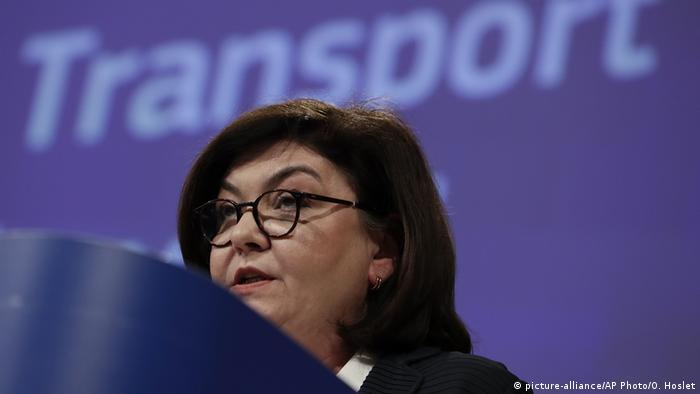 Transport-Kommissarin Adina Valean
