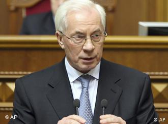 Голова уряду Микола Азаров