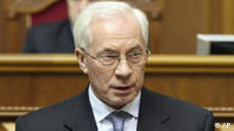 Portrait Premierminister Mykola Asarow (Foto:AP)