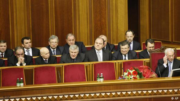 Ukraine Wahlen Premierminister Mykola Asarow Kabinett Kiew Flash-Galerie