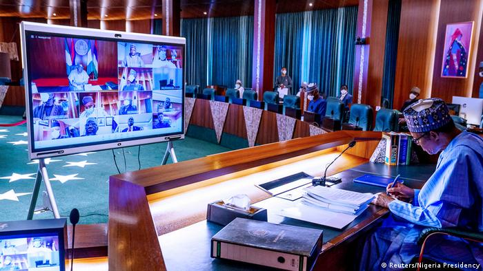 Nigeria Abuja | Prsident Muhammadu Buhari ernennt Ibrahim Gambari zum Stabschef (Reuters/Nigeria Presidency)