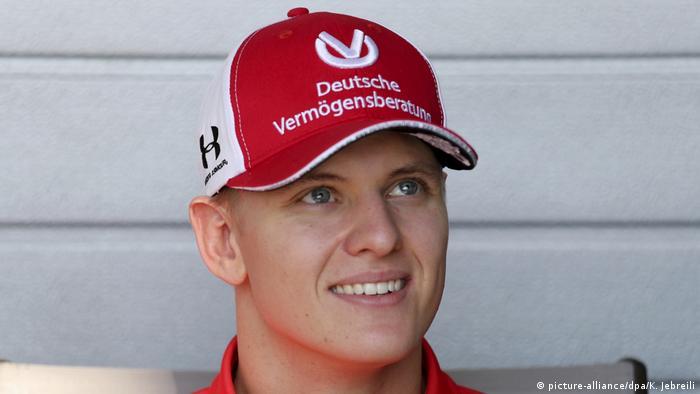 Vereinigte Arabische Emirate Abu Dhabi | Mick Schumacher - Formel-2-Weltmeisterschaft (picture-alliance/dpa/K. Jebreili)