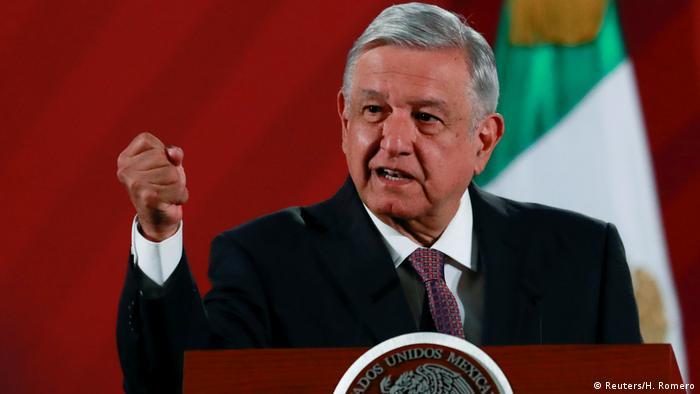 Mexiko Präsident Andres Manuel Lopez Obrador (Reuters/H. Romero)