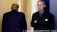 USA | Coronavirus | Donald Trump und Anthony Fauci