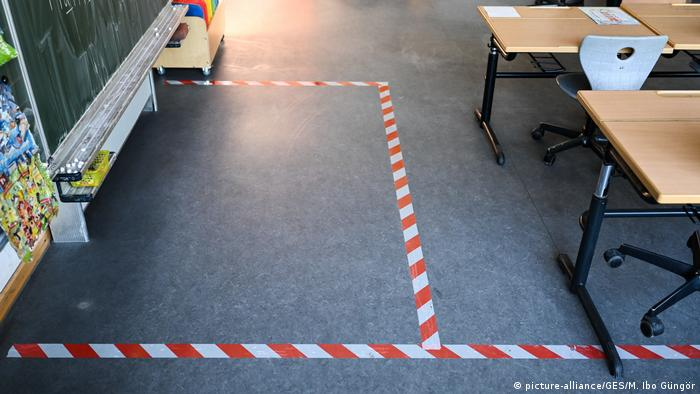 Deutschland Coronavirus Grundschule (picture-alliance/GES/M. Ibo Güngör)