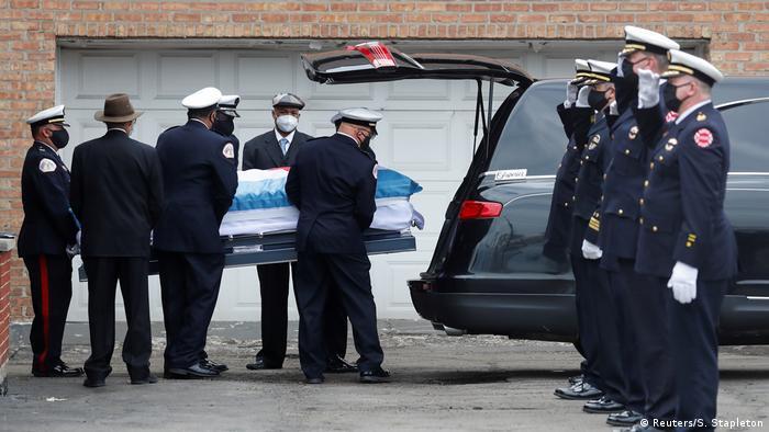USA | Opfer im Kampf gegen Corona | Edward Singleton (Reuters/S. Stapleton)