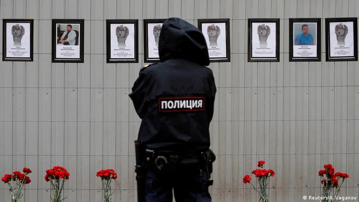Russland | Opfer im Kampf gegen Corona Sankt Petersburg (Reuters/A. Vaganov)