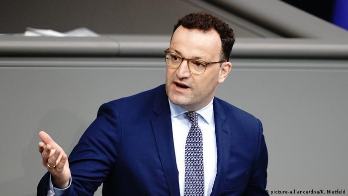 وزير الصحة الألماني ينس شبان.