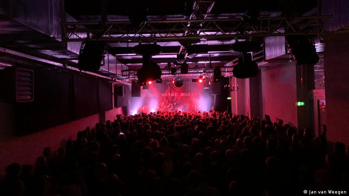 Hot Water Music performing at the Gebäude 9 club in Cologne