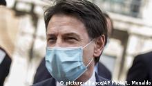 Italien Corona-Pandemie Giuseppe Conte