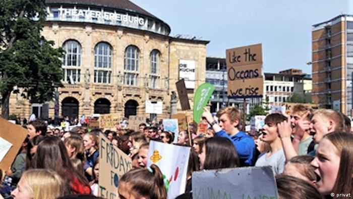 Deutschland Freiburg 2019   Fridays for Future  Demonstration