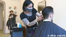 Deutschland Berlin |Friseursalon Haareszeiten