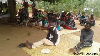 Mosambik Binnenflüchtlinge