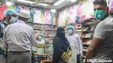 Bangladesch, Dhaka: Geschäfte öffnen nach Corona Lockdown