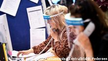 Deutschland | Coronavirus - Berlin | Gesundheitsamt (picture-alliance/dpa/Zentralbild/B. Pedersen)