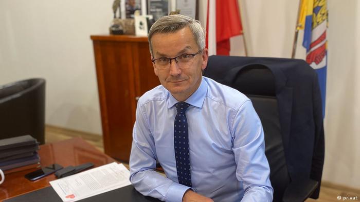 Polen Krzysztof Mejer, Vize-Bürgermeister von Ruda Slaska