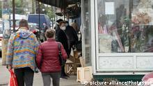 Ukraine Kiew | Coronavirus | Polissia-Markt