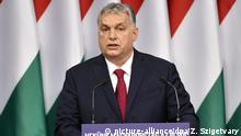 Ungarn Ministerpräsident Viktor Orban