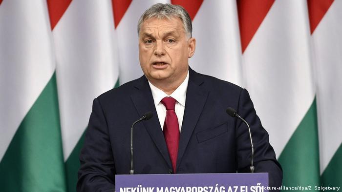 Ungarn Ministerpräsident Viktor Orban (picture-alliance/dpa/Z. Szigetvary)