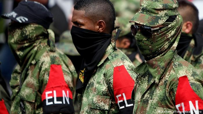 Kolumbien ELN Guerillagruppe erklärt Waffenruhe wegen Corona (picture-alliance/dpa/C. Mora)