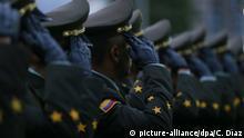 Kolumbien Bogota Polizisten Polizeischule