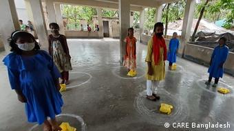 Bangladesch   Covid-19 in den Rohingya-Flüchtlingslager