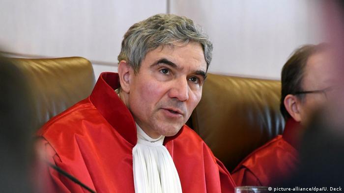 Stephan Harbarth w sędziowskiej todze
