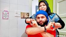 Eine syrische Flüchtlingsfamilie in Brasilien. Copyright: Privat