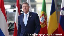Belgien Brüssel | Rumänischer Präsident | Klaus Iohannis