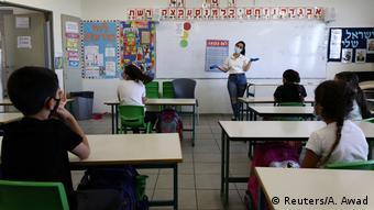 Wiedereröffnung Schulen - Grundschule im Westjordanland (Reuters/A. Awad)