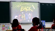 Wiedereröffnung Schulen - Grundschule in Vietnam