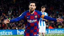 Lionel Messi in Barcelona 2020