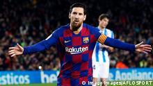 7.3.2020; Barcelonas; Spanien; Lionel Messi Barcelona, MARCH 7, 2020 - Football / Soccer : Spanish La Liga Santander match between FC Barcelona, Barca 1-0 Real Sociedad at the Camp Nou stadium in Barcelona, Spain. NOxTHIRDxPARTYxSALES. 123933352