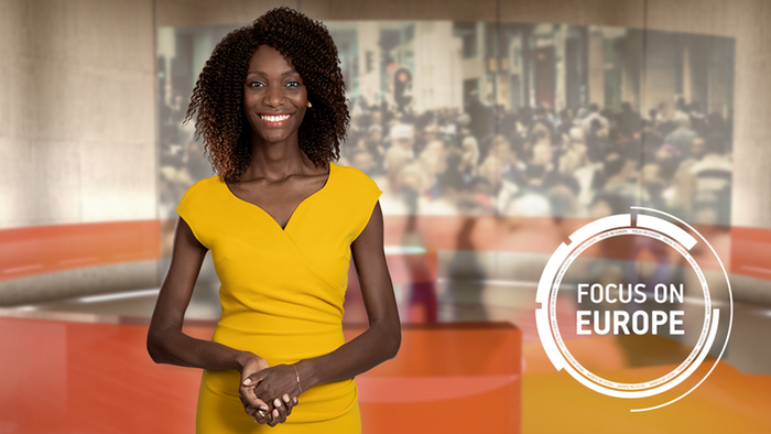 DW Focus on Europe Moderatorin Elisabeth Shoo (Detailseite Moderatorenbio)