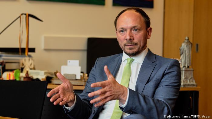 Marco Wanderwitz, deputado federal e comissário para os estados do Leste alemão