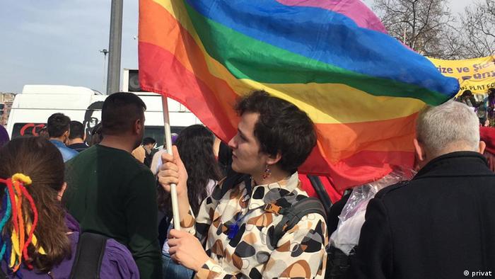 Özcan, Trans student
