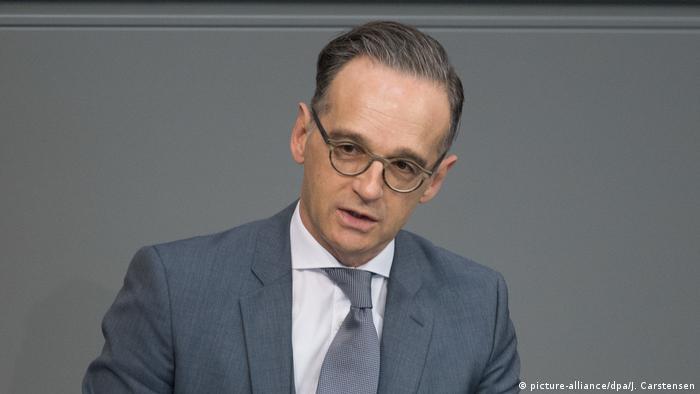 Министр иностранных дел Германии Хайко Мас