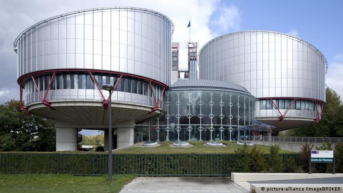 The European Court of Human Rights in Strasbourg, France (picture-alliance /imageBROKER)