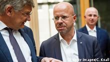 Deutschland AfD Andreas Kalbitz und Joerg Meuthen