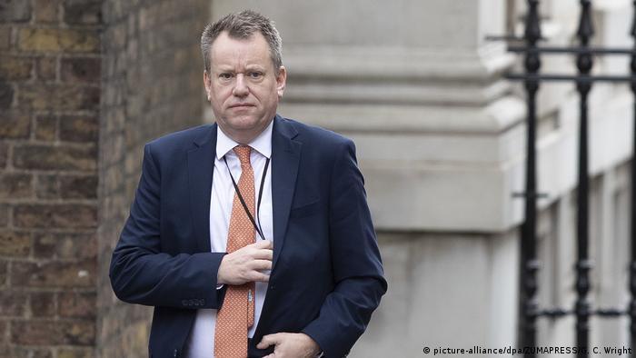 Der britische Unterhändler David Frost hält die EU-Position für ideologisch
