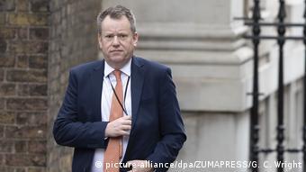 Ο Ντέιβιντ Φροστ, σύμβουλος του Μπόρις Τζόνσον σε θέματα Ευρώπης και επικεφαλής των διαπραγματεύσεων με την ΕΕ