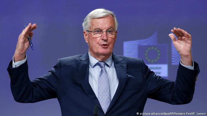 Belgien | Michel Barnier (picture-alliance/dpa/AP/Reuters Pool/F. Lenoir)
